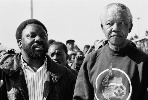 Cyril Ramaphosa and Nelson Mandela_1992 lille