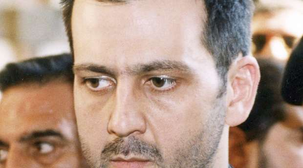 A file handout photo dated June 13, 2000 shows Syrian President Bashar al-Assad's brother, Maher, during ...