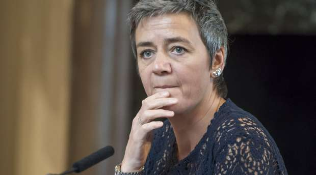 Margrethe Vestager is European Commissioner for Competition gives a lecture at the LSE. She is a former ...
