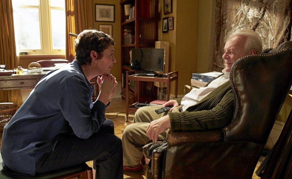 """Anthony Hopkins er suveræn. Fra """"Resten af dagen"""" over """"Ondskabens øjne"""" til nu """"The Father"""", som han – 83 år gammel – modtog en Oscar for. – Foto:"""